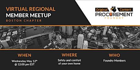 Virtual Member Meetup Boston Chapter tickets
