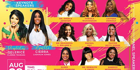"""8th Annual  Discover The Beauty within  """"Business Expo and Conference"""" 2021 tickets"""