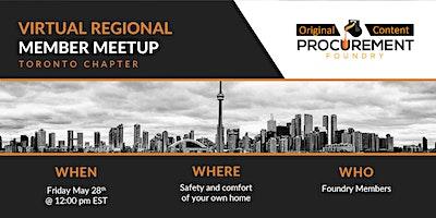 Virtual Member meetup Toronto Chapter