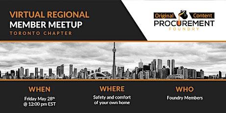 Virtual Member meetup Toronto Chapter tickets