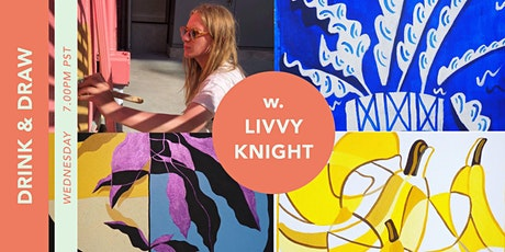 Drink and Draw - with Special Guest Livvy Knight tickets