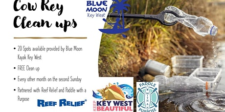 Cow Key Channel Clean ups tickets