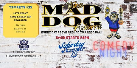 """RBC Comedy Night with Mike """"Mad Dog"""" Adams tickets"""