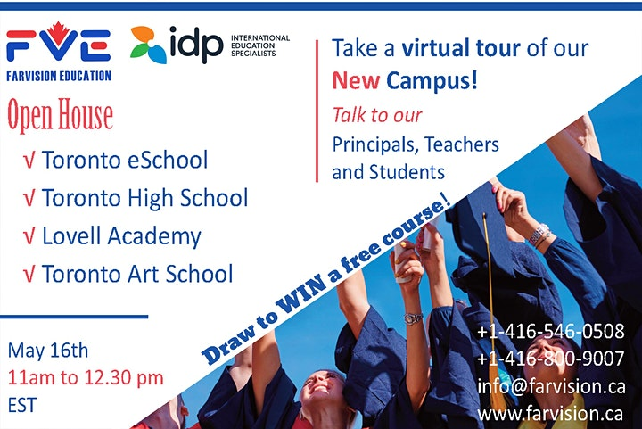 Farvision  High Schools Open House image