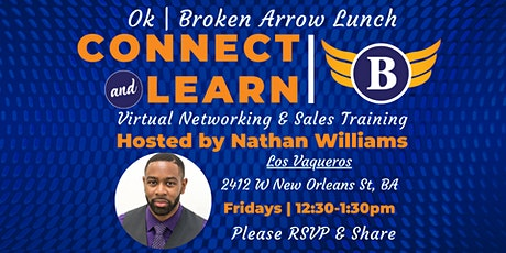 OK | Broken Arrow Lunch - Networking and Sales Training tickets