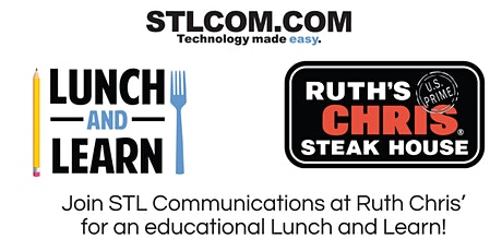 STL Educational Series: Lunch and Learn at Ruth Chris' tickets