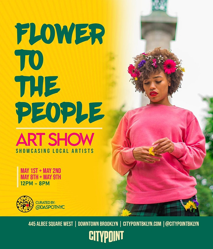 Flower to the People Art Show image