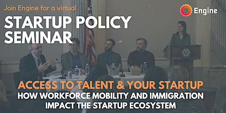 Startup Seminar: Access to Talent and Your Startup tickets
