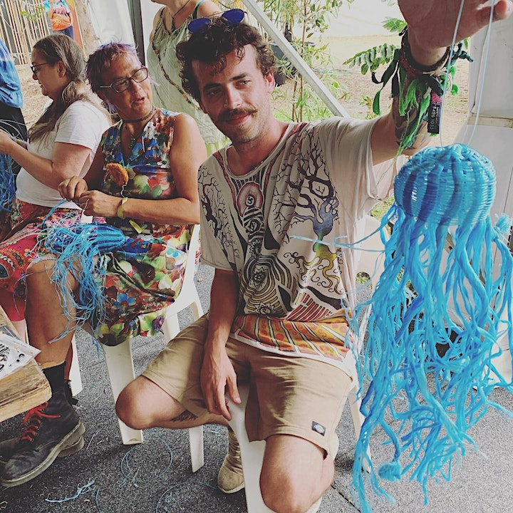 Wish Upon a Jellyfish Weaving Workshop for International Students image