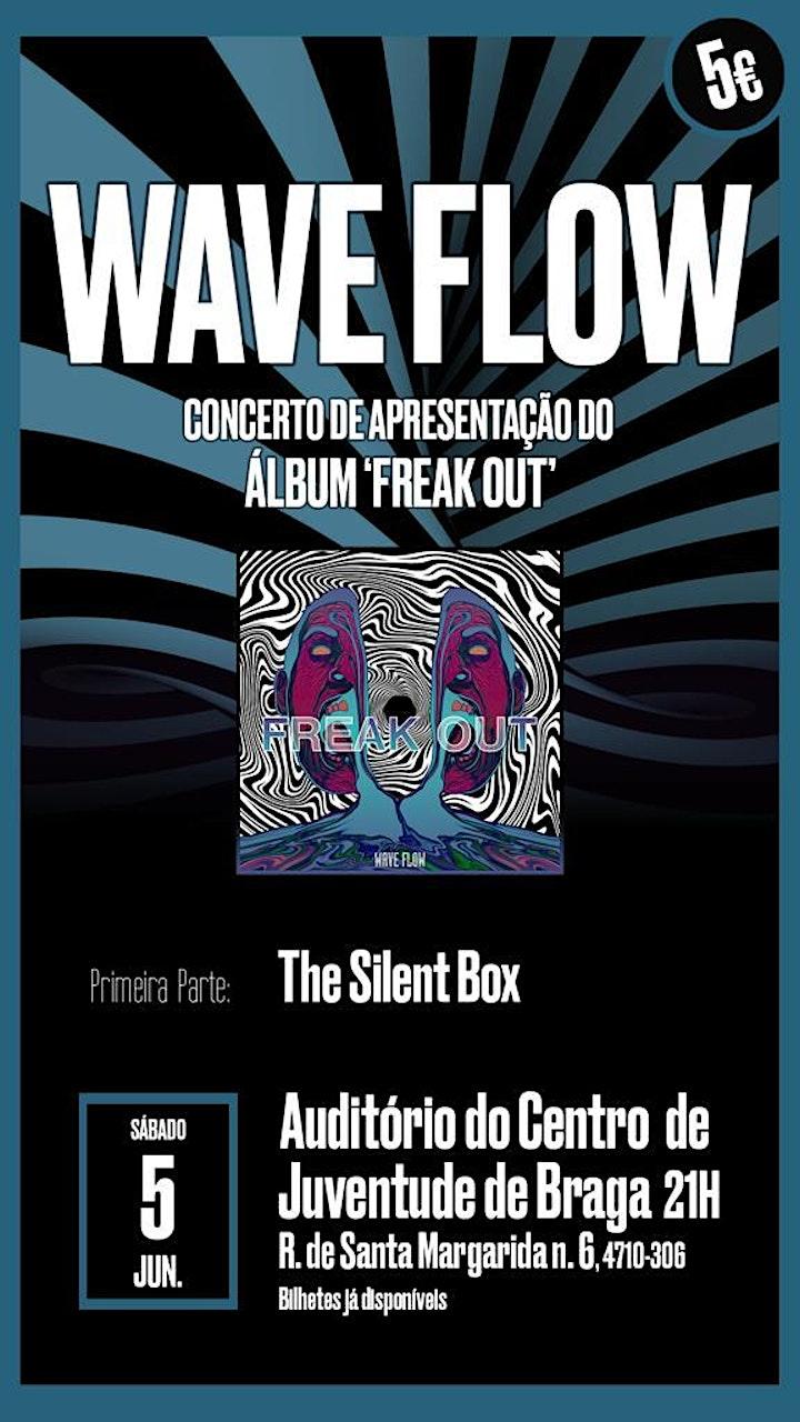 """imagem Wave Flow :: Apresentação do álbum """"Freak Out""""."""