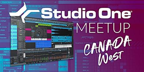 Studio One E-Meetup - Canada West tickets