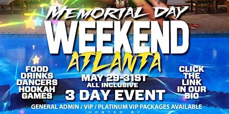 Atlanta Memorial Day Weekend Mansion Pool Party tickets