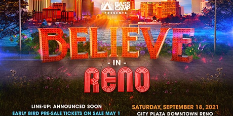 Believe In Reno tickets