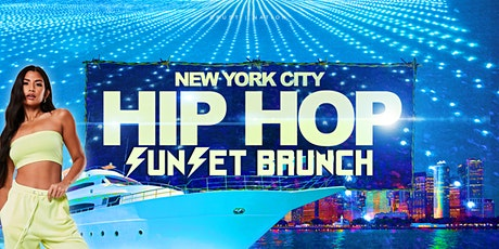 The #1 HIP HOP & R&B Sunset Brunch Boat Party - NYC Yacht Cruise tickets