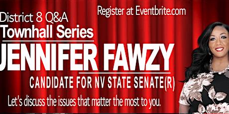 District 8 Q&A with Jennifer Fawzy tickets