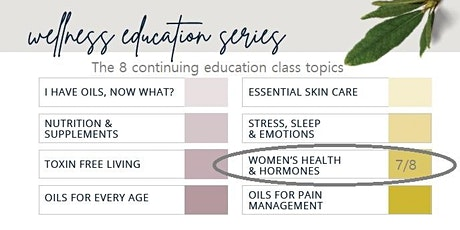 Free Women's Health & Hormones Online Class - a doTERRA Wellness event tickets