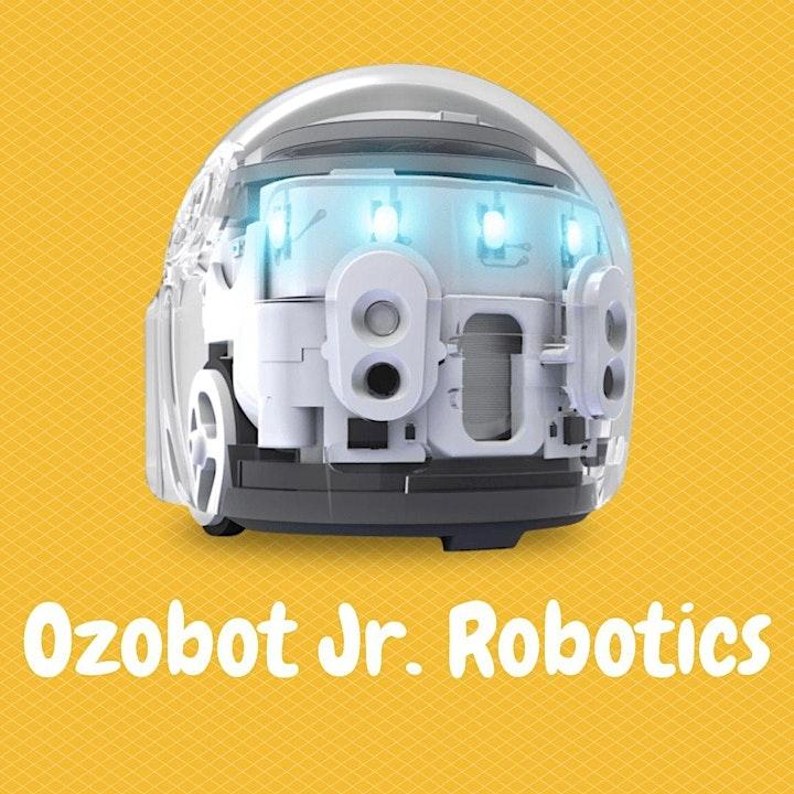 Calgary STEM Summer Camps for Kids! - Ozobot Jr. Robotics image