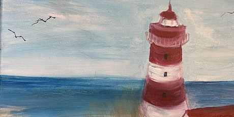 This is a lighthouse.-- Paint and Sip! tickets
