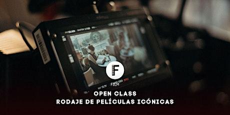 Open Class | Rodaje de películas icónicas tickets