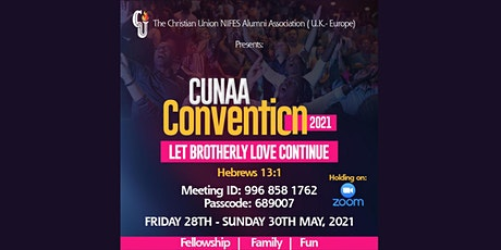 CUNAA UK-Europe Virtual Convention  2021 tickets