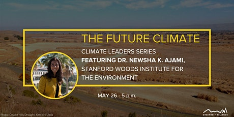Climate Leader Series:  Where Has The Water Gone with Newsha Ajami tickets