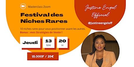 Festival des Niches Rares tickets
