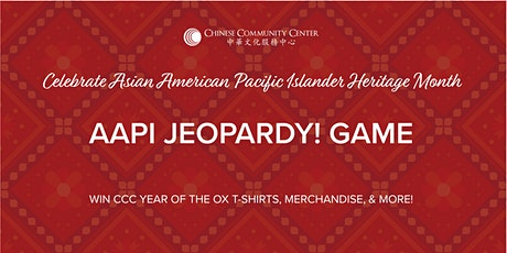 AAPI Virtual Jeopardy! Game tickets