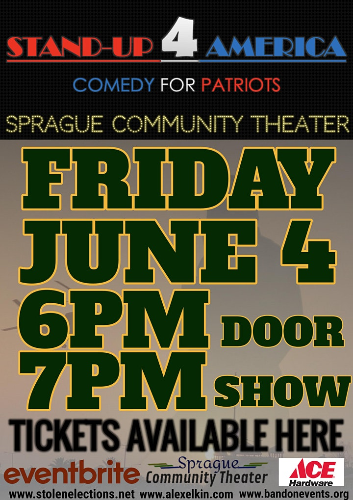 Stand Up 4 America: Comedy for Patriots image