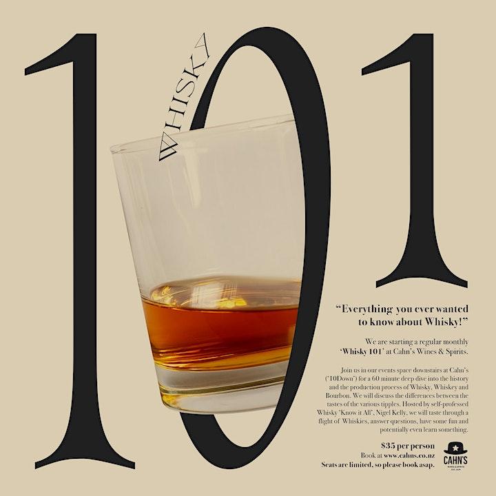 Whisky 101 image