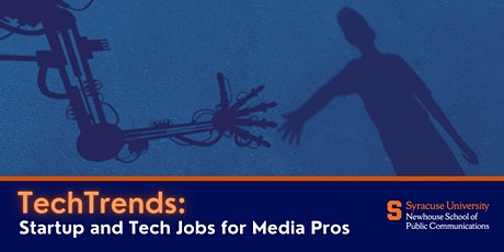 TechTrends: Startup and Tech Jobs for Media Pros tickets