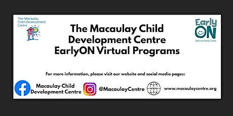 Macaulay Child Development Centre: EarlyON: Circle Time Program tickets