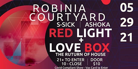 Red Light + Love Box. The Return of House with Slava and Ashoka tickets