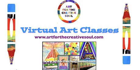 Art For Creative Soul  Virtual Art Classes tickets