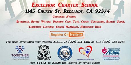 Excelsior Charter Schools Redlands Pull Up and Pick Up Family Support Day tickets