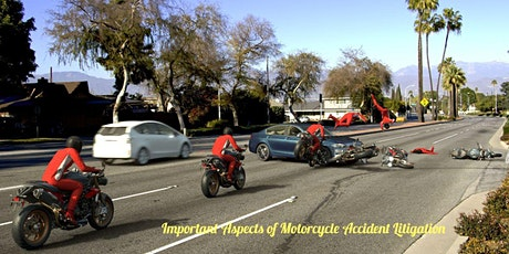 Motorcycle Accident Litigation CE - CA Insurance - Property & Casualty tickets