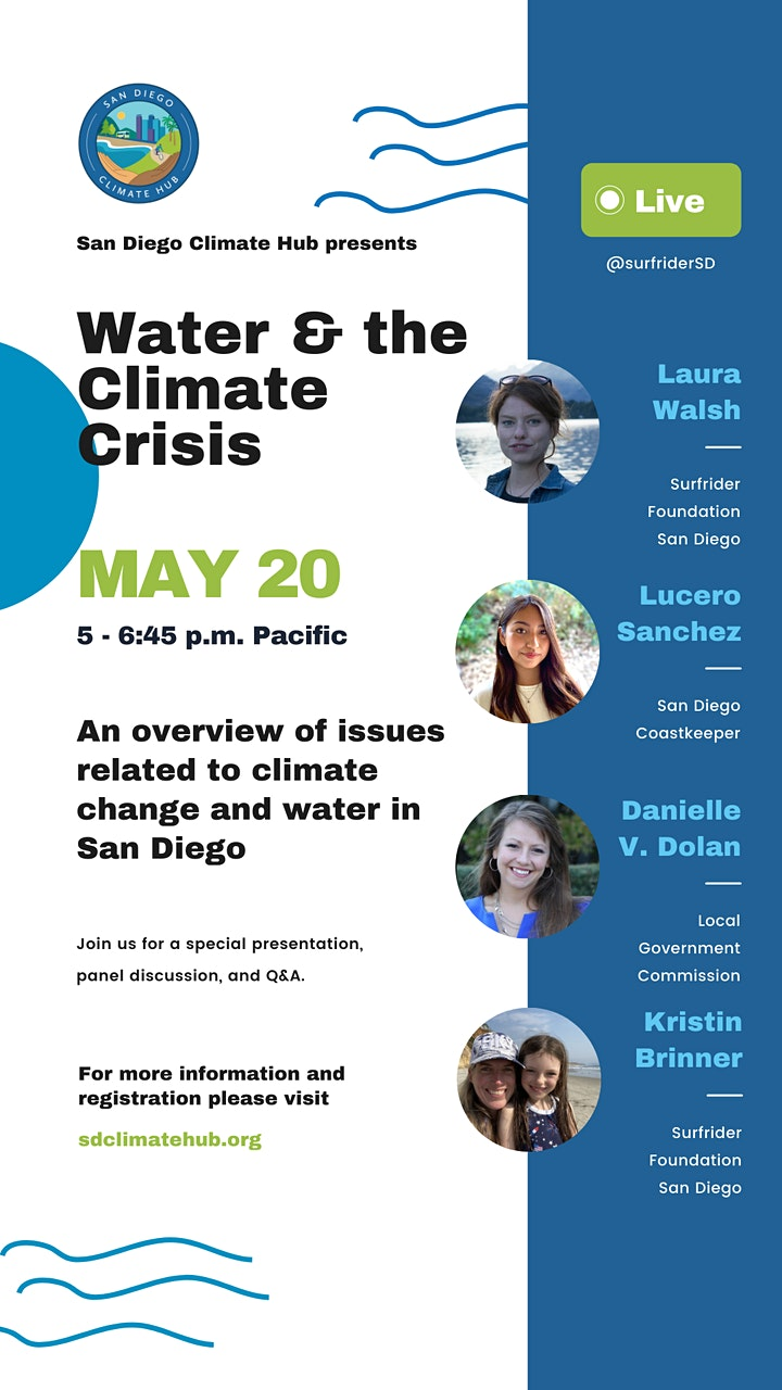 Water & the Climate Crisis image