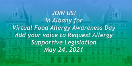 Virtual Food Allergy Awareness Day in Albany on May 24, 2021 tickets
