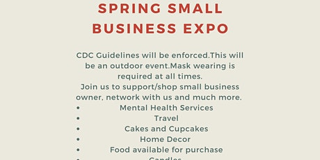 Spring Small Business Expo Weekend Presented by MGIH,LLC, tickets