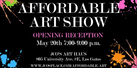 Affordable Art Show | Opening Reception tickets