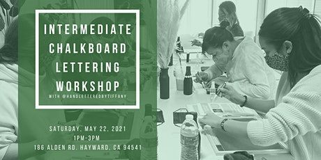Intermediate Chalkboard Lettering Workshop tickets