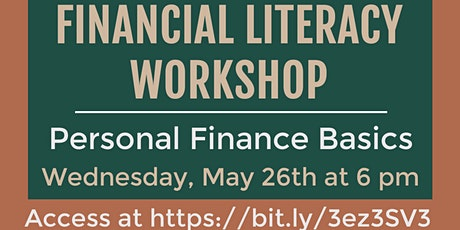 Financial Literacy Workshop: Personal Finance Basics tickets