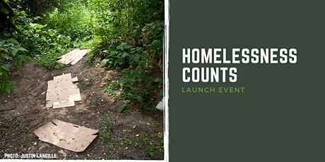 Homelessness Counts: Launch Event tickets