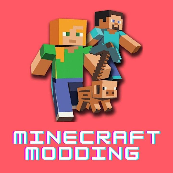 Calgary STEM Summer Camps for Kids! -Minecraft Modding image
