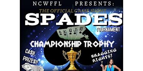 Spades  Tournament tickets