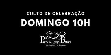 Culto de Celebração - 10h ingressos