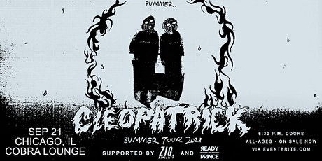 cleopatrick: BUMMER TOUR tickets