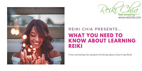 What you need to know about Learning Reiki tickets
