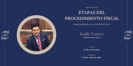 Taller Virtual: Etapas del procedimiento fiscal entradas