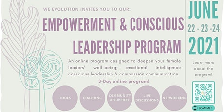 Empowerment, Wellness & Conscious Leadership Program 2021 tickets