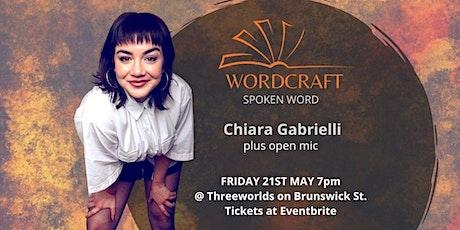 Wordcraft Spoken Word - Feat: Chiara Gabrielli tickets